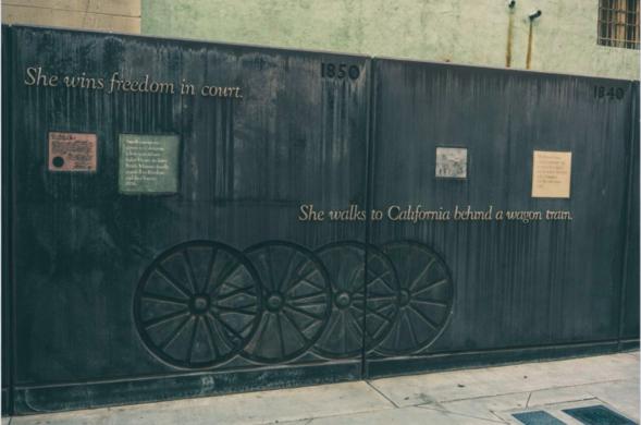 Biddy Mason Memorial Park Los Angeles California Atlas Obscura