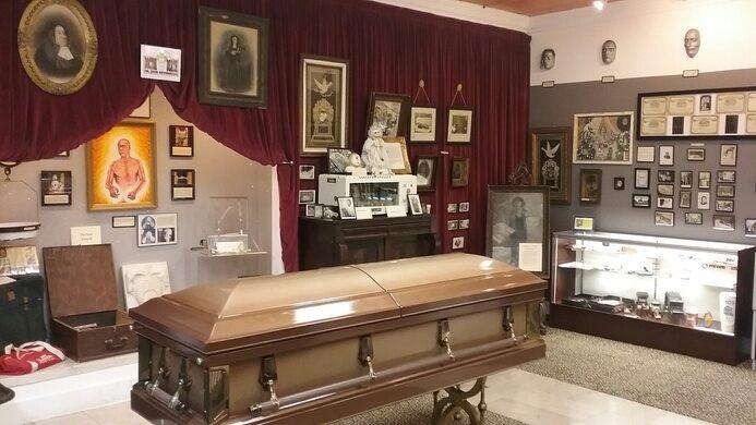 Peti Mati di Museum Kematian