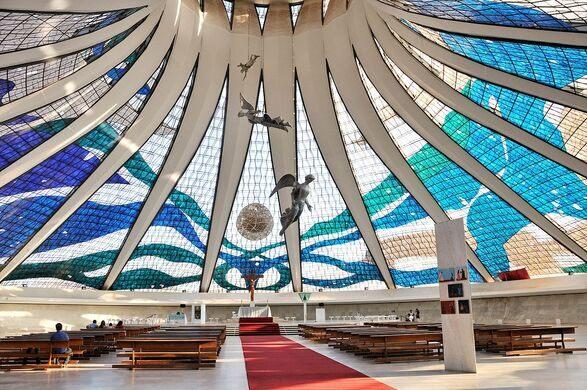 cathedral of bras lia bras lia brazil atlas obscura. Black Bedroom Furniture Sets. Home Design Ideas