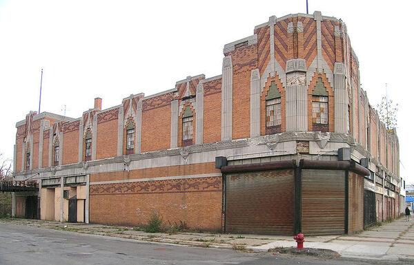 Vanity Ballroom Detroit Michigan Atlas Obscura