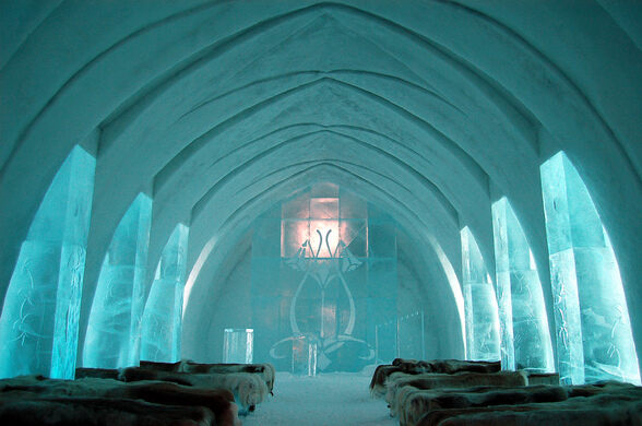 The Ice Chapel Bjaglin On Flickr Creative Commons