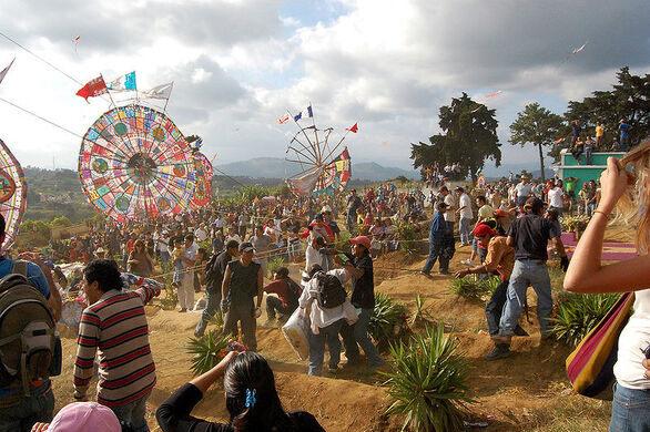 All Saints Day Kite Festival – Santiago Sacatepéquez, Guatemala