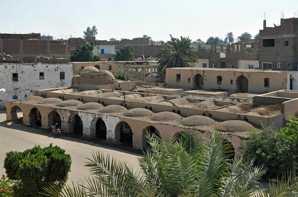 New Gourna Village in Al Qarnah, Egypt