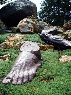 Gilgal Sculpture Garden Salt Lake City Utah Atlas Obscura