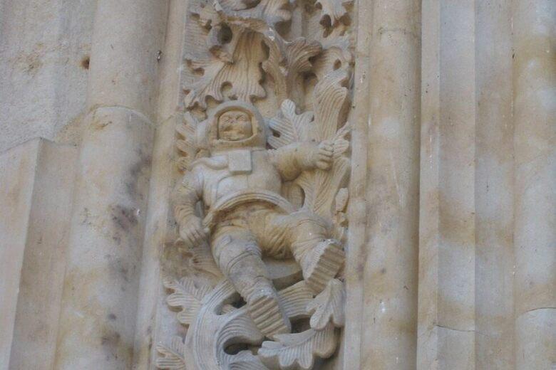 Cathedral of Salamanca's Astronaut – Salamanca, Spain