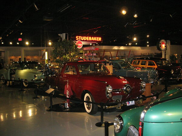 Studebaker National Museum South Bend Indiana Atlas