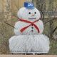 AMAFCA's tumbleweed snowman