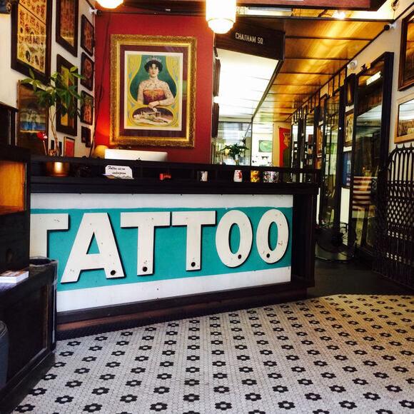 Daredevil Tattoo Museum New York New York Atlas Obscura
