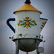 The coffee pot-shaped tower honors the town's Swedish heritage.