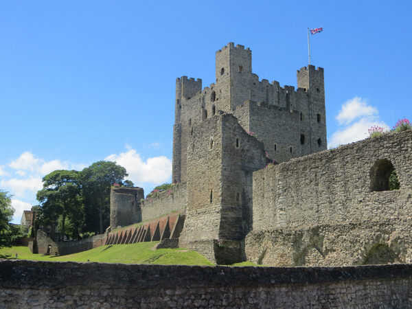 Rochester Castle Medway England Atlas Obscura