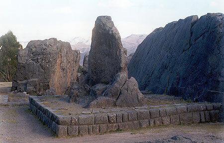 Qenqo temple