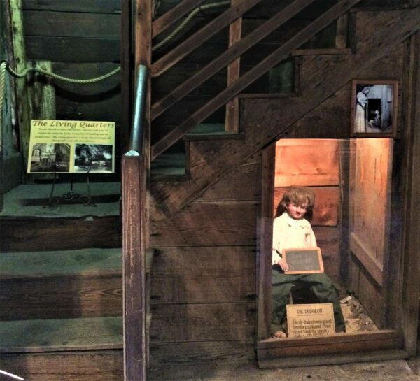 Dungeon Under The Stairs At The Oldest Wooden Schoolhouse