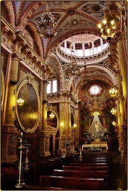 Templo De San Antonio Aguascalientes Mexico Atlas Obscura