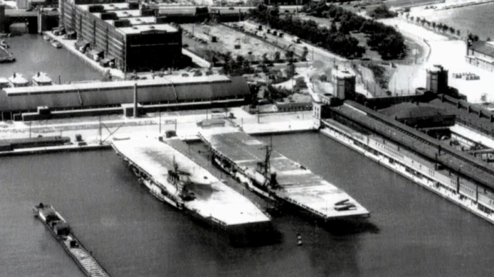 Aircraft Carriers of Navy Pier – Chicago, Illinois - Atlas