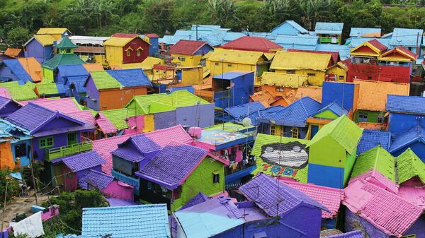 Kampung Warna-Warni (Village of Color) – Malang, Indonesia