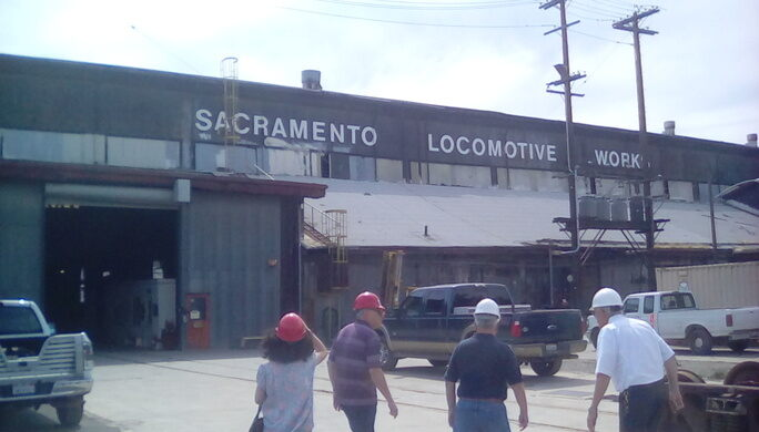 Sacramento Locomotive Works Sacramento California Atlas Obscura