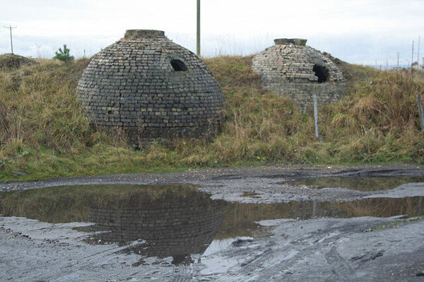 Inkerman Beehive Coke Ovens in Tow Law, England