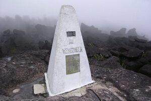 Mount Roraima tripoint, Venezuelan side and partial Guyanese side