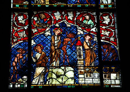 Stained-Glass Demons of Strasbourg Cathedral