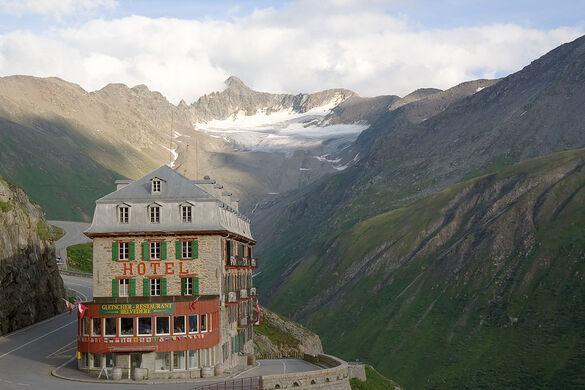 belvédère hotel swiss alps
