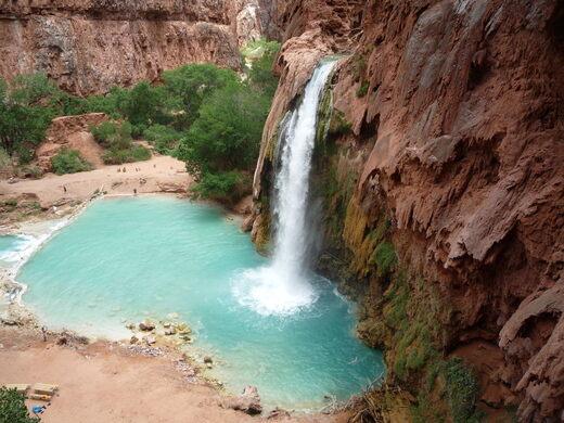 Havasupai Falls Supai Arizona Atlas Obscura