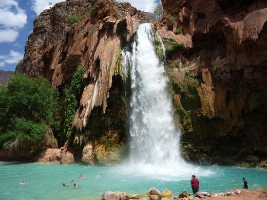Havasupai Falls – Supai, Arizona - Atlas Obscura
