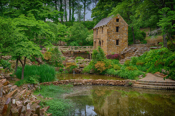 The Old Mill – North Little Rock, Arkansas - Atlas Obscura