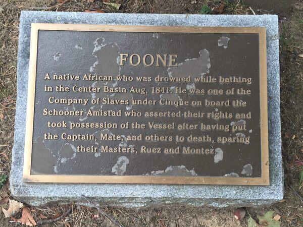 The Grave Of Foone Farmington Connecticut Atlas Obscura