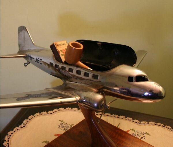 Ben Chifley's Model Airplane in South Bathurst, Australia