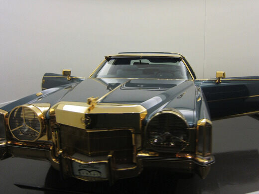 Cadillac Of Memphis >> Isaac Hayes Gold Plated Cadillac Memphis Tennessee