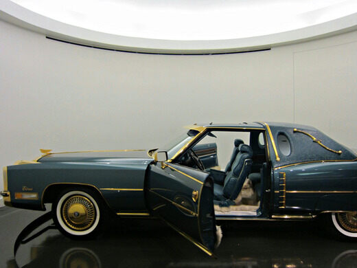 Isaac Hayes Gold Plated Cadillac Memphis Tennessee Atlas Obscura