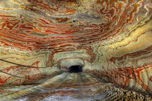 Image result for PSYCHEDELIC SALT MINES IN YEKATERINBURG, RUSSIA