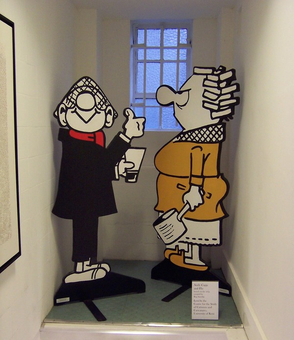 The Cartoon Museum London England Atlas Obscura
