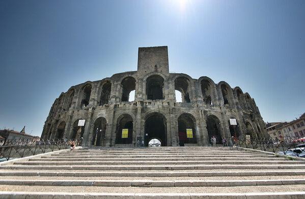 arles amphitheatre arles france atlas obscura