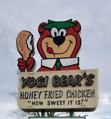 The Last Yogi Bear Honey Fried Chicken Restaurant