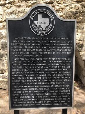 Portland Cement Plant Ruins San Antonio Texas Atlas
