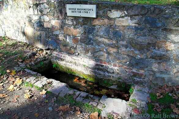 george washington's bathtub – berkeley springs, west virginia
