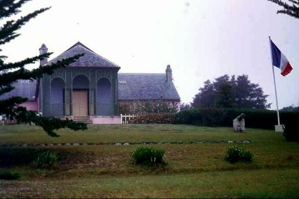 Longwood house st helena saint helena ascension and for Longwood house