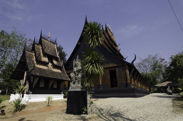 Baan Dam - Black House – Tambon Nang Lae, Thailand  Atlas ...