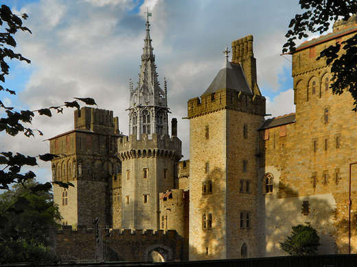 the arab room at cardiff castle � cardiff wales atlas