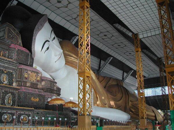 Shwethalyaung Buddha of Bago – Bago, Myanmar (Burma) - Atlas Obscura
