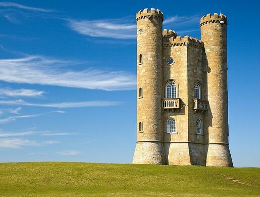 Broadway Tower and Nuclear    Bunker        Broadway  England   Atlas Obscura