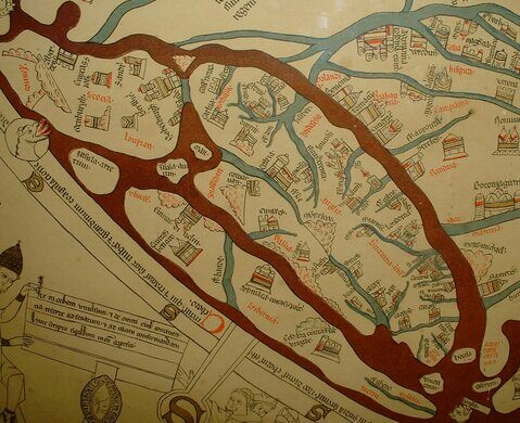 Hereford Mappa Mundi Hereford England Atlas Obscura