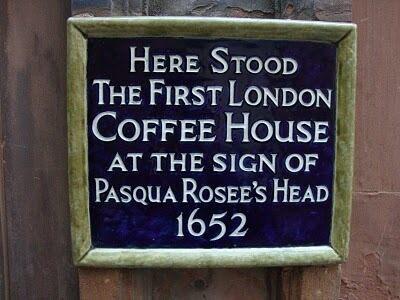 London's Original and All-Inspiring Coffee House – London