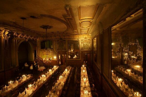 Hall Of Mirrors In Cl 228 Rchens Ballhaus Berlin Germany