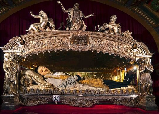 The Wax And Bones Relics Of Saint Vincent De Paul Paris