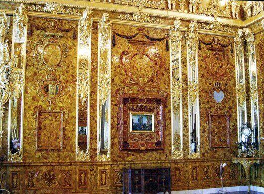 The Amber Room – Pushkin, Russia - Atlas Obscura