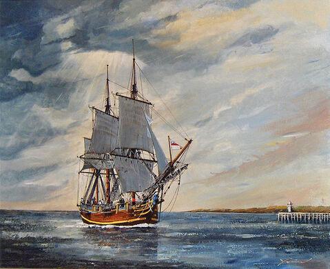 Wreck of HMS Bounty – Adamstown, Pitcairn Islands - Atlas