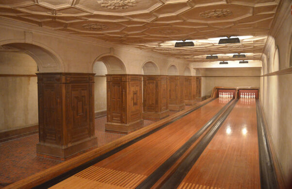 Frick Bowling Alley – New York, New York - Atlas Obscura