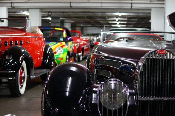 Petersen Automotive Vault Los Angeles California Atlas Obscura